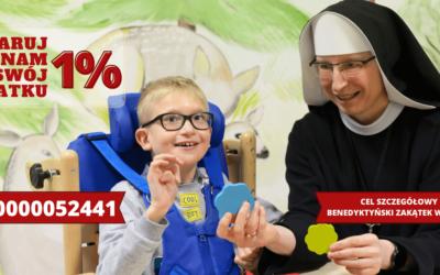 Podaruj nam swój 1% podatku!
